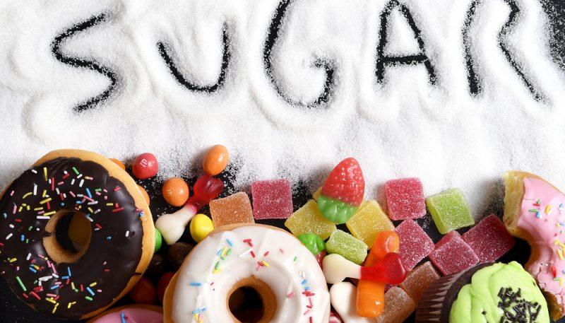 đường có nhiều trong bánh kẹo